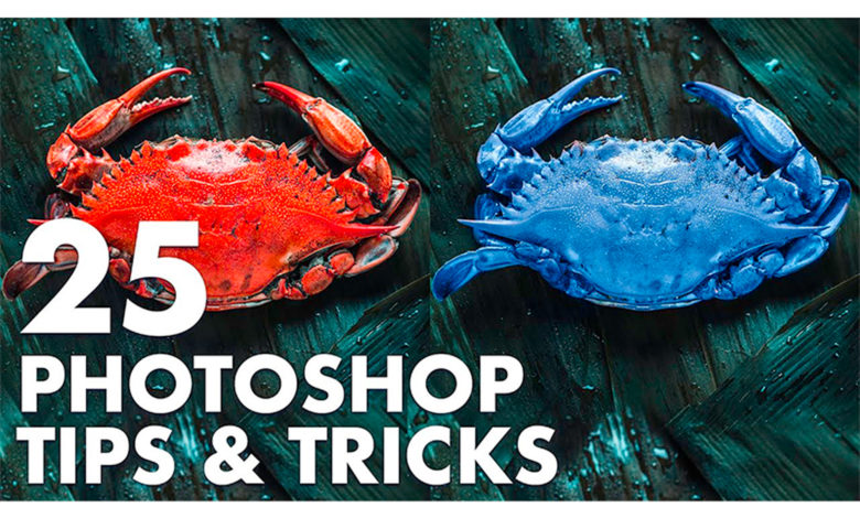 25 Photoshop TIPS AND TRICKS (must know!) From TutVid (Nathaniel Dodson)