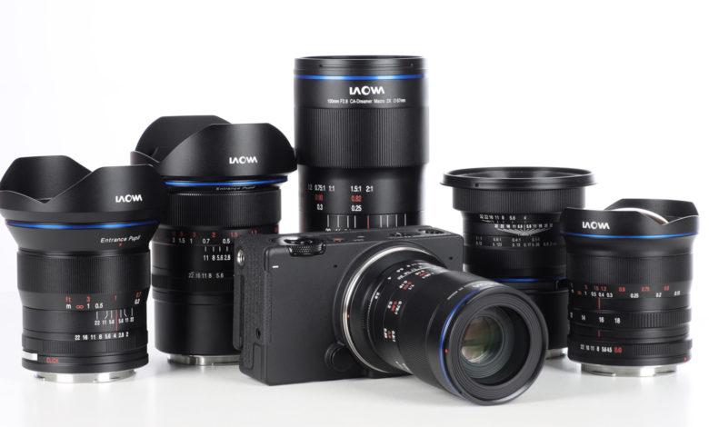 A Venus Optics lançou seis de suas populares lentes L-mount