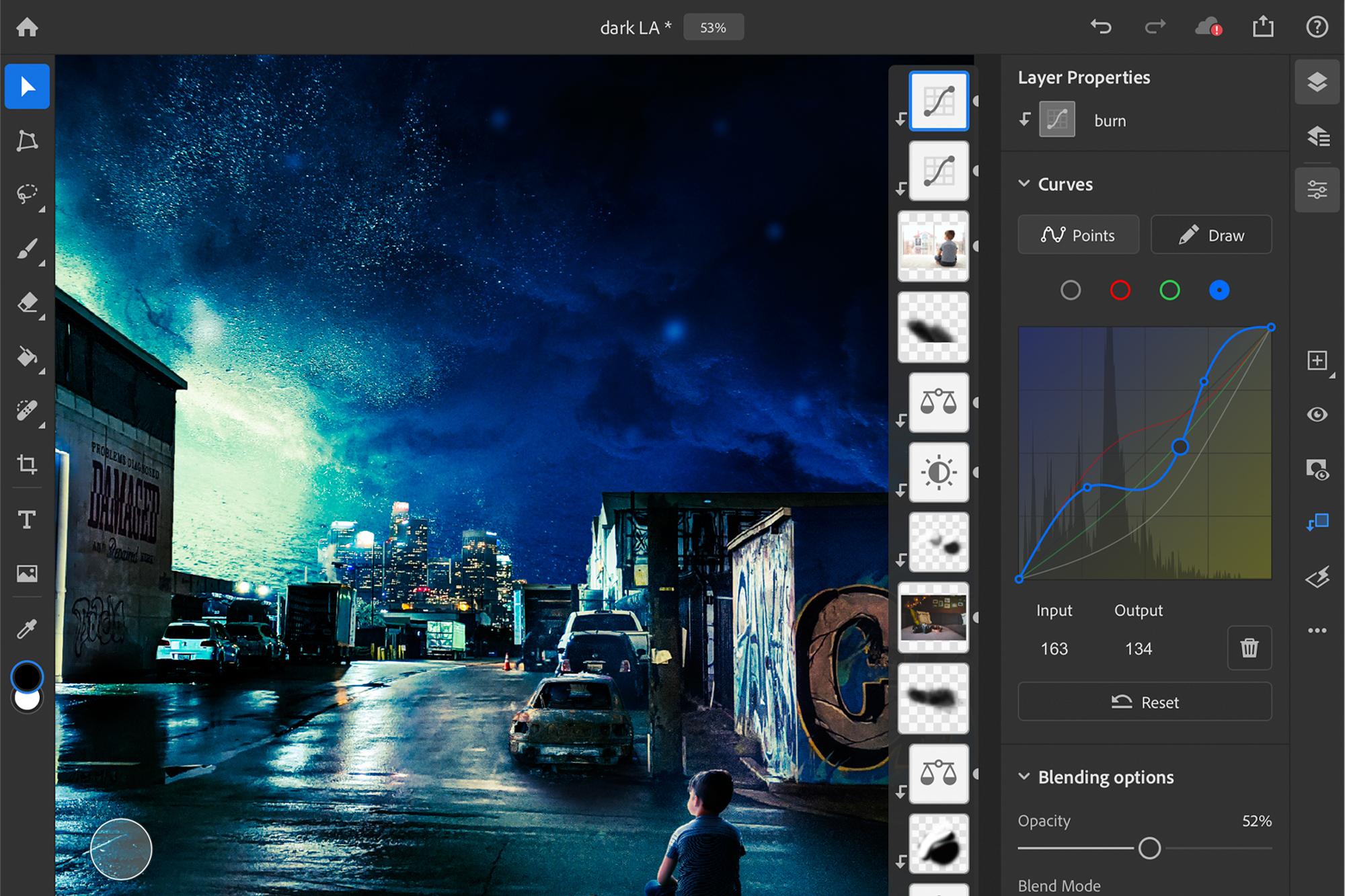 Photo of Curvas da caneta Apple e sensibilidade à pressão chegam ao Photoshop no iPad