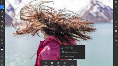 Photo of Adobe adiciona ferramentas de rotação de pincel e tela de borda fina ao Photoshop para iPad