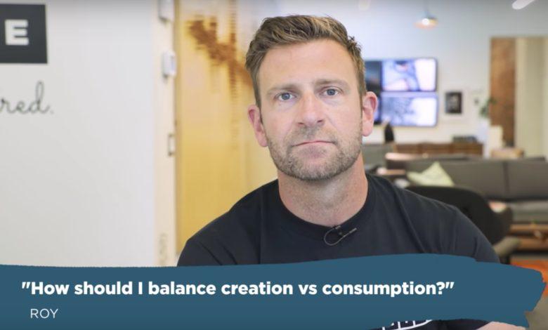 Balanço de consumo x criação