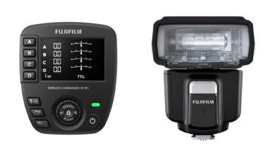 Photo of Fujifilm apresenta o flash de montagem em sapata EF-60 e o comando sem fio EF-W1 para câmeras da série X e sistema GFX