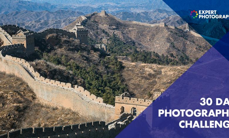 O projeto de 30 dias para desafios fotográficos (Comece hoje mesmo!)