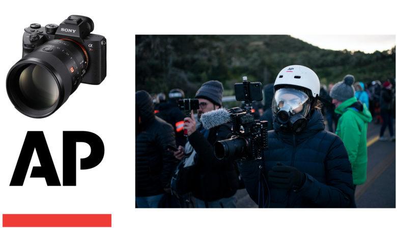 Sony faz parceria com a Associated Press para se tornar fornecedora exclusiva de equipamentos de imagem para seus jornalistas de fotografia e vídeo