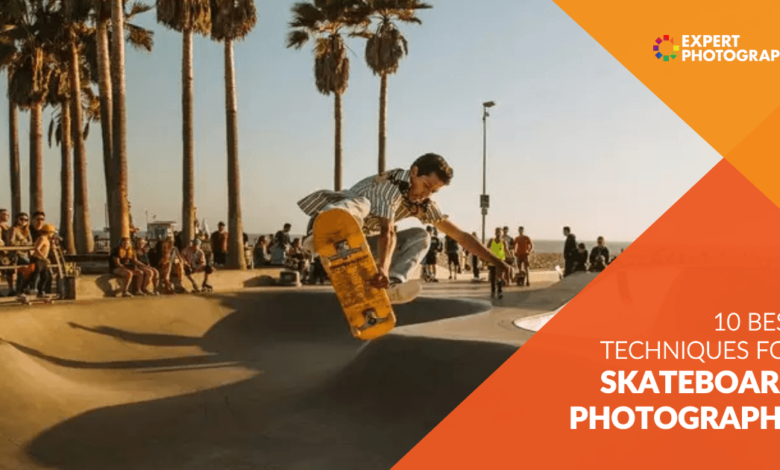 10 técnicas incríveis para tirar fotos em um skate