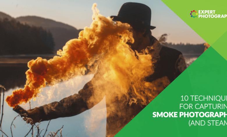 10 técnicas para capturar fotos com fumaça (e vapor!)