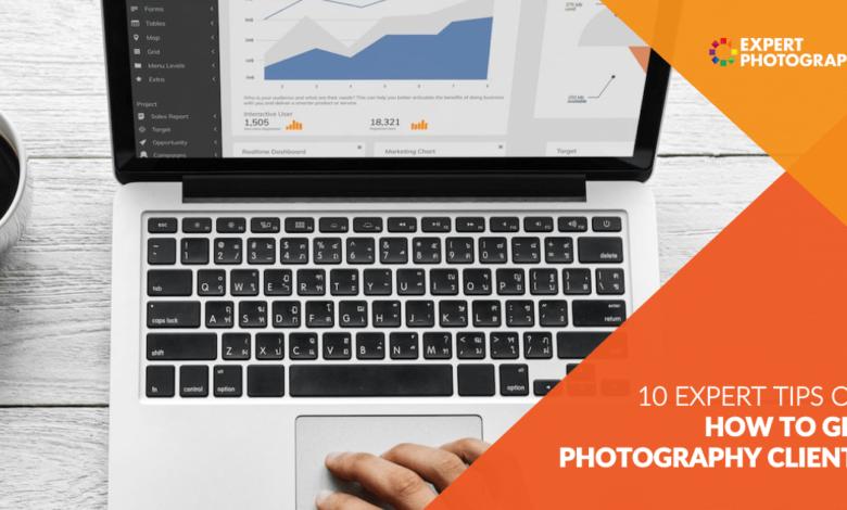Como conseguir clientes fotográficos (10 dicas fáceis que funcionam!)