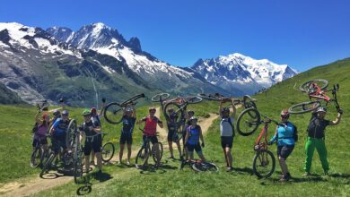 Photo of Mountain bike no vale de Chamonix