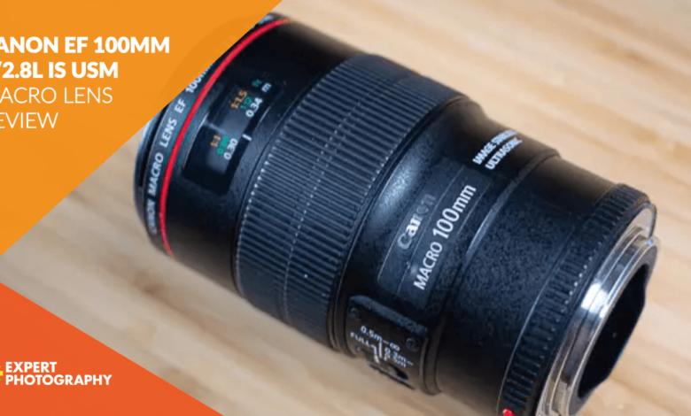 Revisão de lente macro Canon EF 100 mm f / 2.8L IS USM 2020