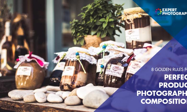 8 regras de ouro para uma composição perfeita de fotos de produtos