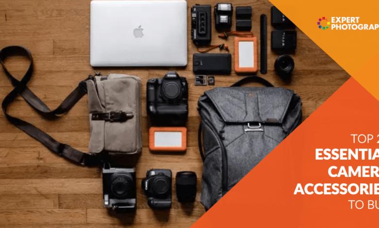 Os 20 principais acessórios de câmera essenciais para comprar em 2020
