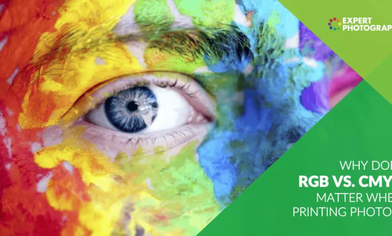 Por que RGB e CMYK são importantes ao imprimir fotos?