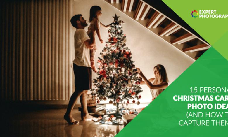15 ideias de fotos pessoais favoritas para cartões de Natal para 2020