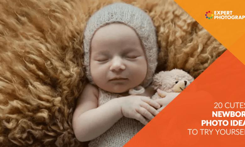 20 ideias de fotos de recém-nascidos mais fofas que você deveria experimentar