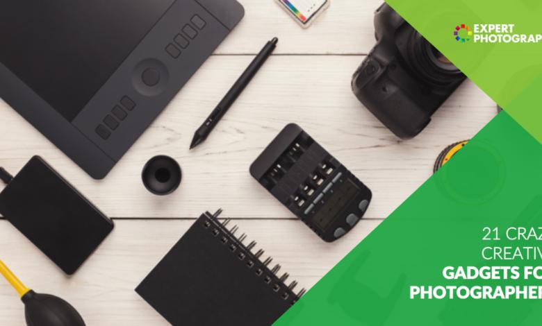 21 gadgets de fotografia úteis e criativos para experimentar em 2021