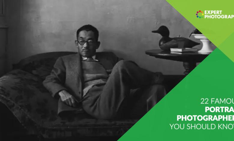 22 Fotógrafos de retratos famosos que você deve conhecer