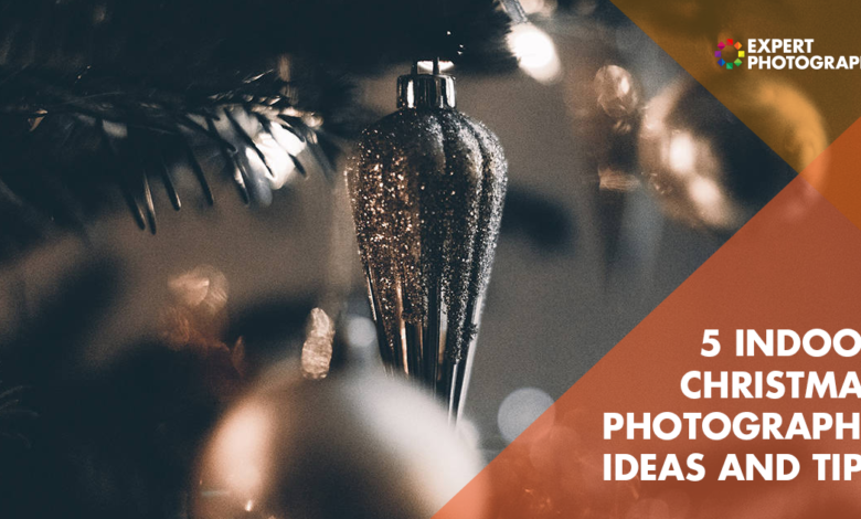 5 ideias para fotos internas de Natal (árvore de Natal, luzes, retratos)
