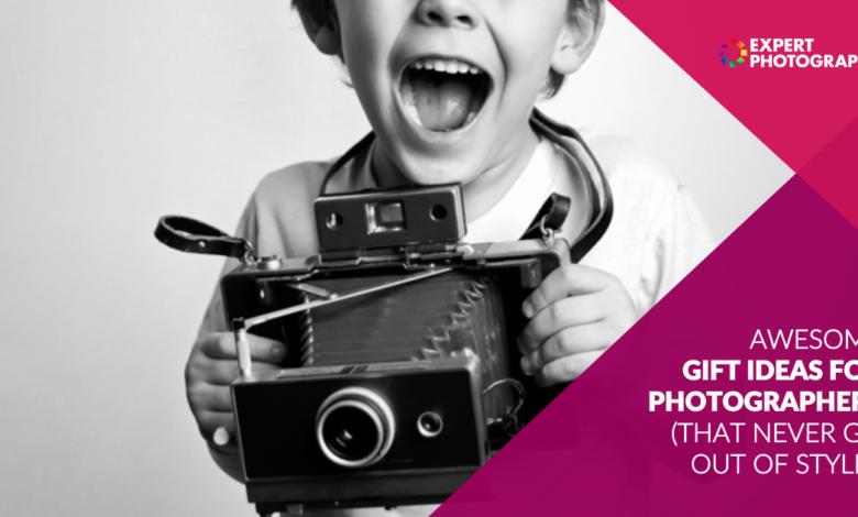 64 presentes incríveis para fotógrafos (2021)