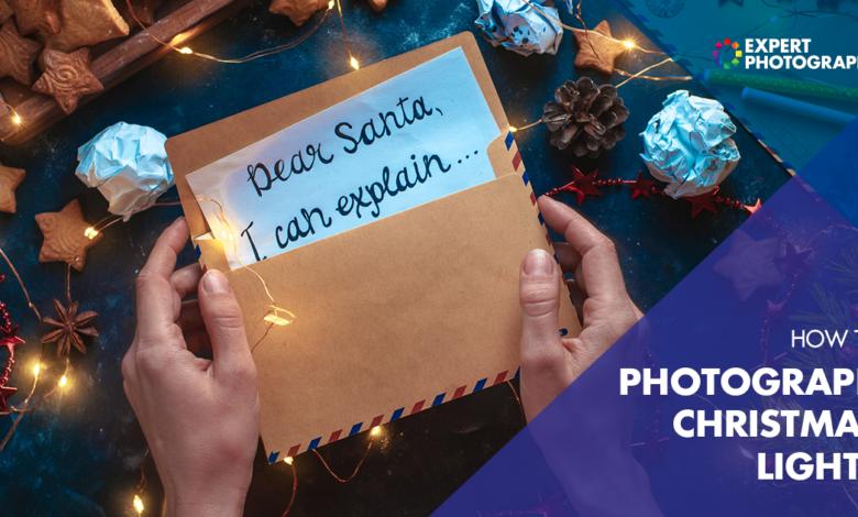 Como fotografar luzes de Natal (melhores configurações e dicas!)