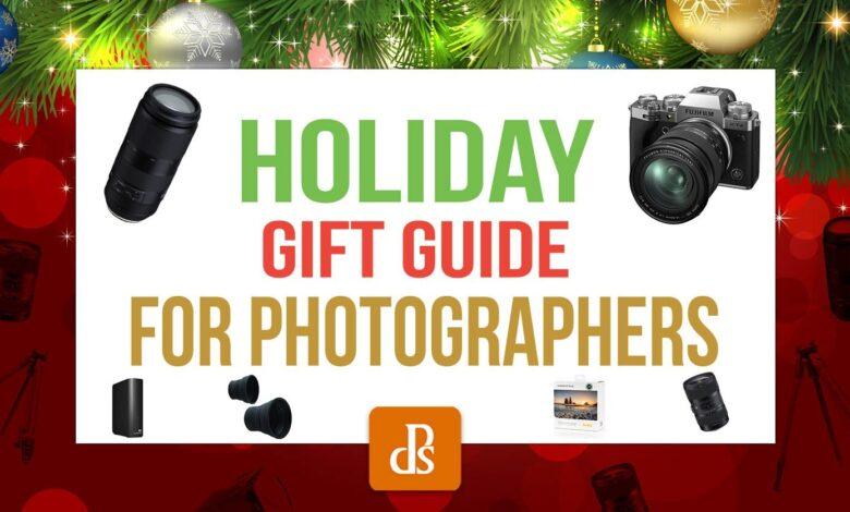 O guia de presentes de Natal dPS para fotógrafos (2020)
