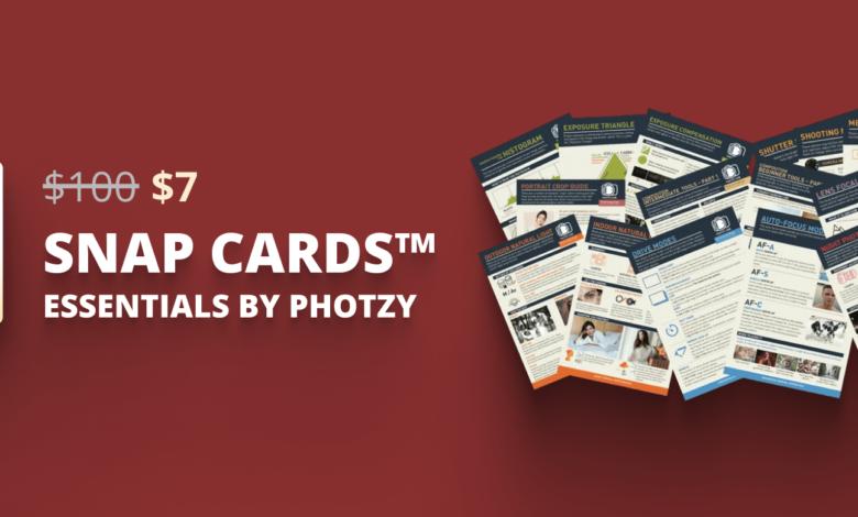 Ofertas de férias até US $ 10: Photzy Deal 1