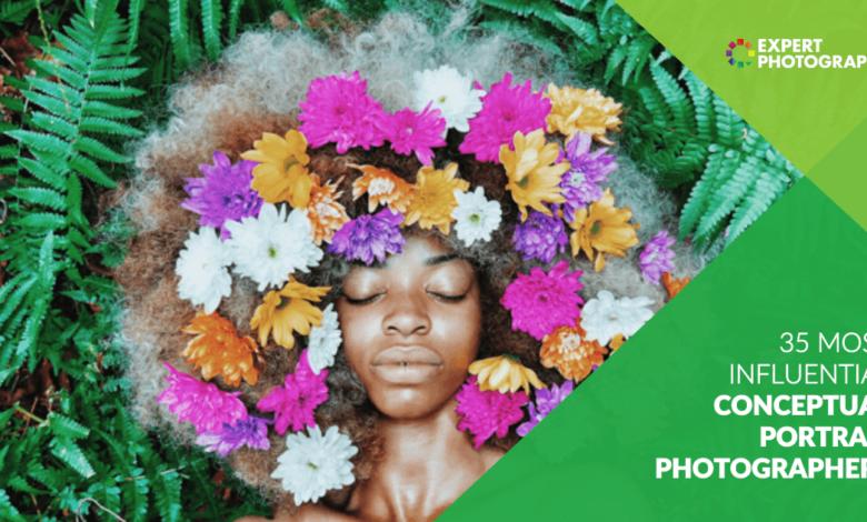 35 fotógrafos de retratos de conceito mais influentes