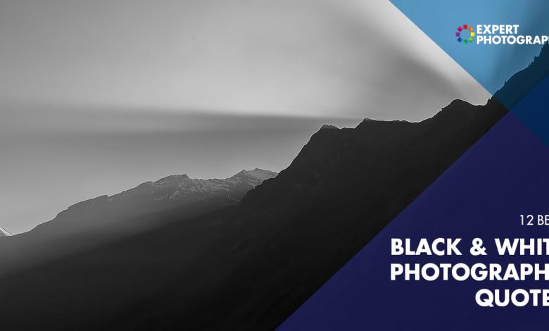 20 melhores citações em preto e branco para inspiração de fotos
