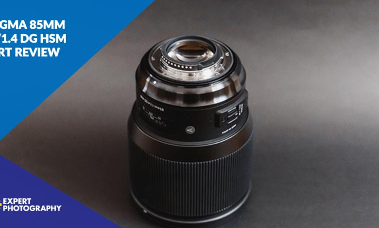 Lente artística Sigma 85mm f / 1.4 DG HSM (revisão completa de 2021!)