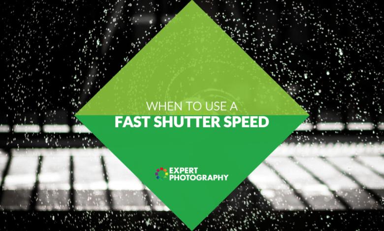 O que é uma velocidade rápida do obturador? (Como e quando usá-lo!)