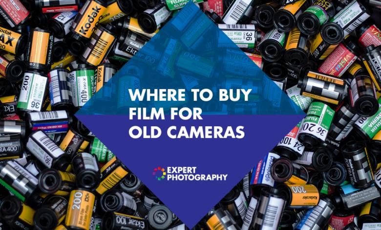 Onde comprar filme para sua câmera (melhores lojas de câmeras de filme)