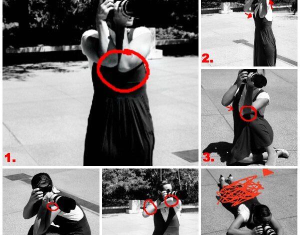 Como reduzir a trepidação da câmera