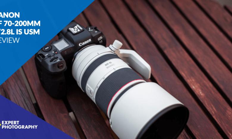 Revisão da Canon RF 70-200mm f / 2.8L IS USM (vale a pena comprar?)