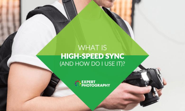 O que é flash de sincronização de alta velocidade (e como ele é usado)?
