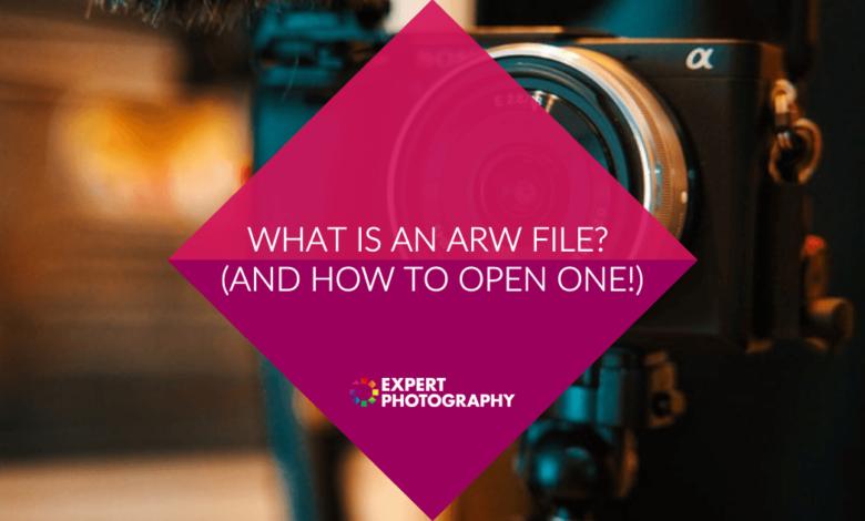 O que é um arquivo ARW? (E como abrir um!)