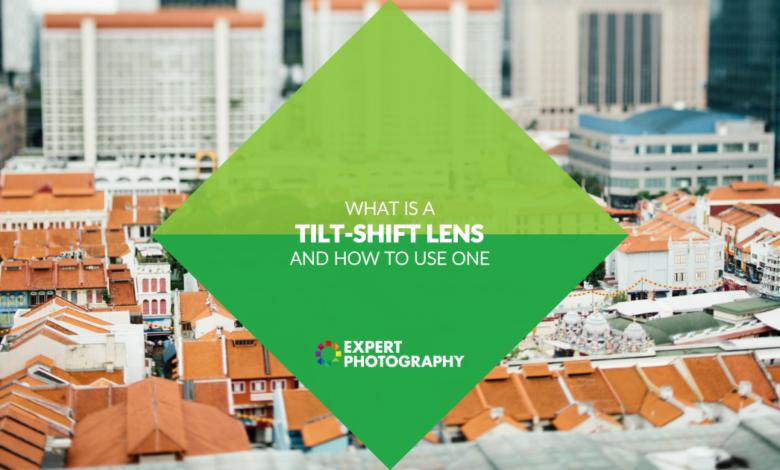 O que é uma lente tilt shift? (Como e por que usar um!)