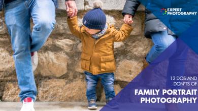 Photo of Fotografia de retrato de família (12 coisas importantes que devemos e não devemos fazer!)