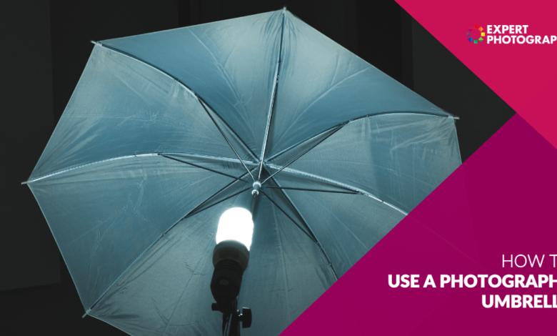 O que é um guarda-chuva fotográfico? (E como usar um!)