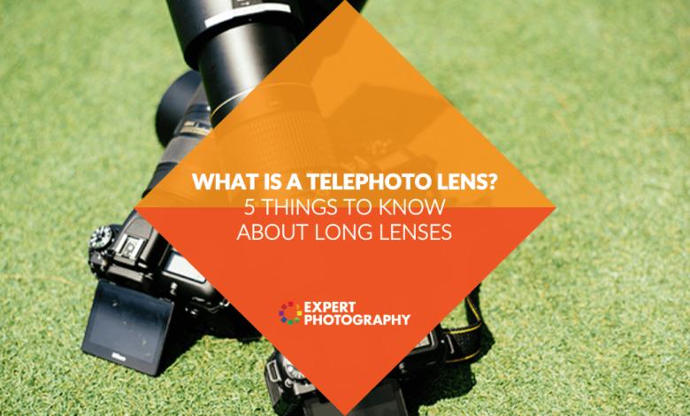 O que é uma lente telefoto? (Por que e quando você precisa disso!)